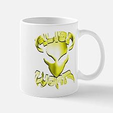 Alienwear Logo Face Yellow Mug