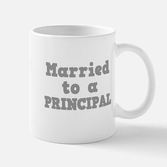 Married to a Principal Mug