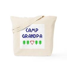 """Camp Grandpa"" Tote Bag"