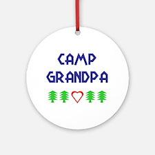 """Camp Grandpa"" Ornament (Round)"