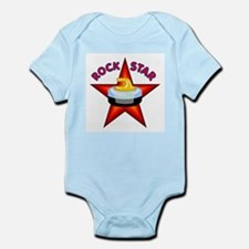"""Rock Star (Curling)"" Infant Bodysuit"