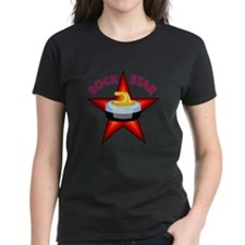 """Rock Star (Curling)"" Tee"