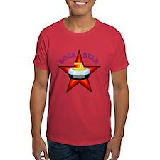 """Rock Star (Curling)"" T-Shirt"