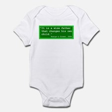 Shakespeare Funny Quote No. 3 Infant Bodysuit