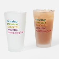 Epidemiologist Drinking Glass