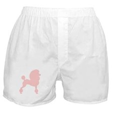 Pink Poodle Boxer Shorts