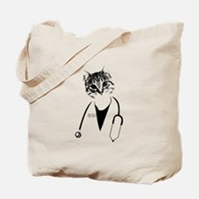 Dr. Cat Tote Bag