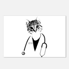 Dr. Cat Postcards (Package of 8)