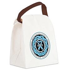Behcets Disease Hope Canvas Lunch Bag