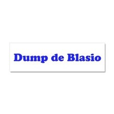 Dump De Blasio Removable Car Magnet 10 X 3