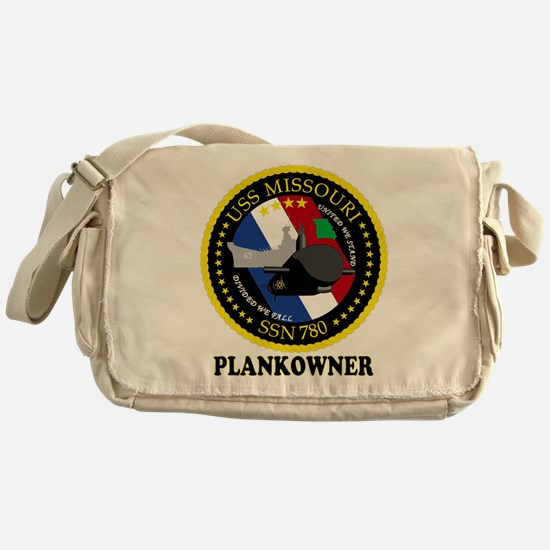 PLANKOWNER SSN 780 Messenger Bag