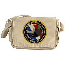 USS Missouri SSN 780 Messenger Bag