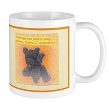 Portuguese Water Dog Black Cu Mug