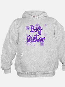 purple big sister Hoodie