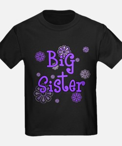 purple big sister  T