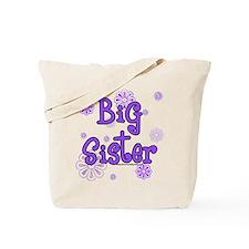 purple big sister  Tote Bag