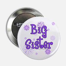 purple big sister Button