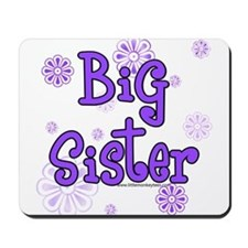 purple big sister  Mousepad