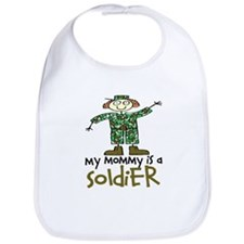 My Mommy is a Soldier Bib