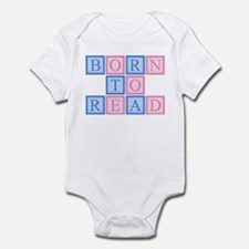 Born to Read Blocks Infant Bodysuit