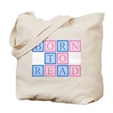 Born to read Canvas Totes