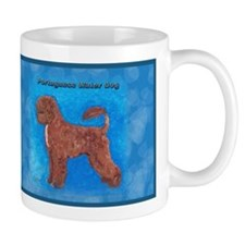 Brown Portuguese Water Dog Mug