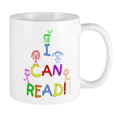 I Can Read 1 Mug