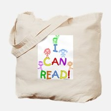 I Can Read 1 Tote Bag