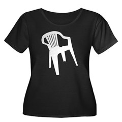 White Plastic Chair T