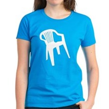 White Plastic Chair Tee