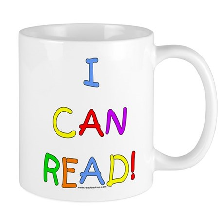 I Can Read 2 Mug