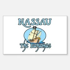 Nassau Rectangle Decal