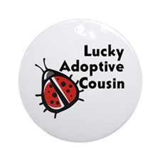 Adoptive Cousin Ornament (Round)