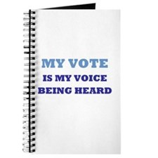 Cute Rock vote Journal