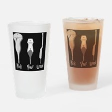 Pick Your Wand Design #2 Drinking Glass