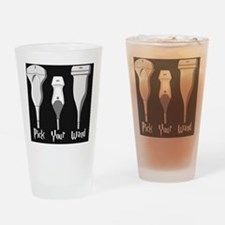 Pick Your Wand Design #1 Drinking Glass