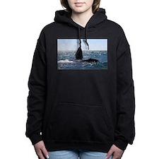 Gray Whales Women's Hooded Sweatshirt
