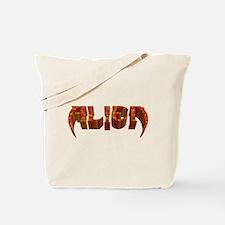 """""""Alien"""" Rustic Tote Bag"""
