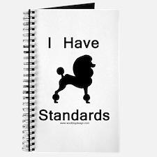 Poodle - I Have Standards Journal