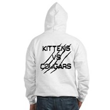 Cute Cougars and kittens Hoodie