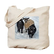 Pygmy Goat Trio Tote Bag