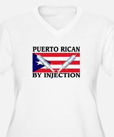 Puerto Rican By Injection T-Shirt