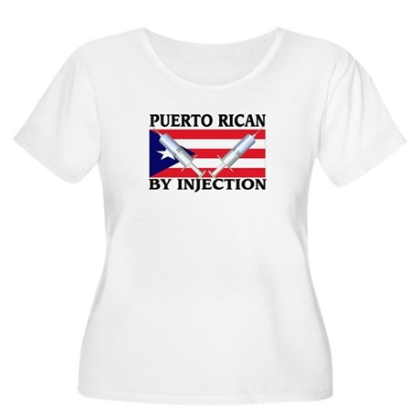 Puerto Rican By Injection Women's Plus Size Scoop