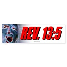 Rev. 13:5 Bumper Bumper Sticker