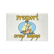 Freeport Rectangle Magnet