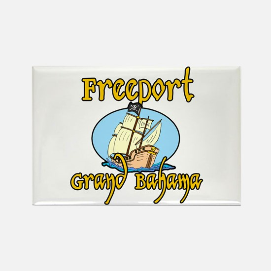 Freeport Rectangle Magnet