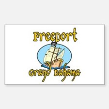 Freeport Rectangle Decal