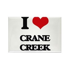 I Love Crane Creek Magnets