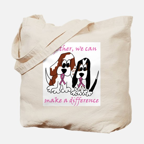 The Basset Boys Wear Pink Tote Bag