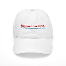 Support Bacteria Baseball Baseball Cap